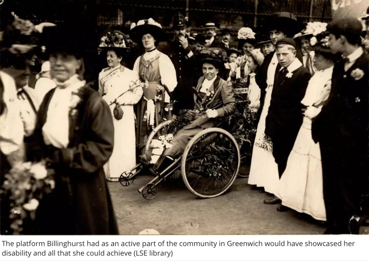 Rosa May Billinghurst: The disabled suffragette abused by police and force-fed in prison